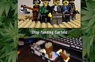 Mother nature vs cartels - Weedmemes.com