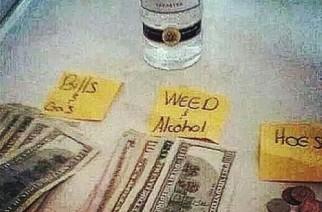 Gotta get your priorities straight