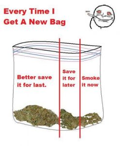 New Bag of weed meme