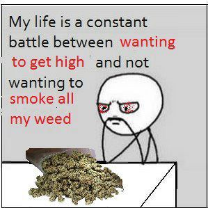 My life is a constant battle…