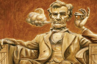 Stoner Abraham Lincoln Pot Art
