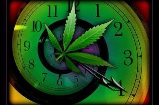 420 clock weed memes