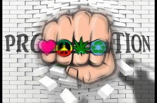 Knuckles of Peace, Love, Dro, Environment Legalize Marijuana Meme