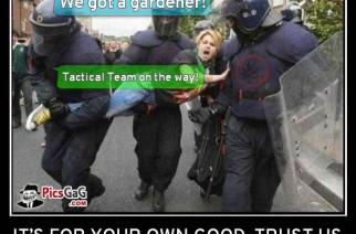 We got a gardener!