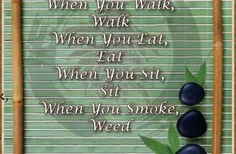 When you smoke, Weed