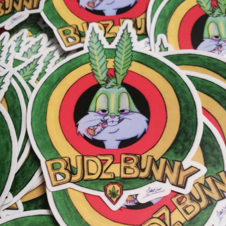 Bugs Bunny And Mickey Mouse Smoking Weed Budz Bunny