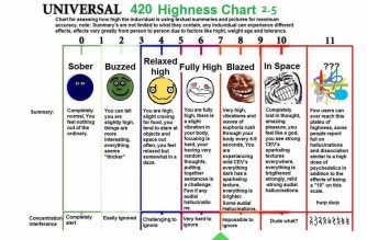 How High Stoner Pothead Scale Weed Memes
