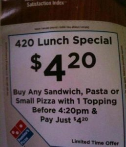 420 Lunch Special Weed Memes