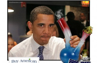 Grown in the USA Obama Weed Memes