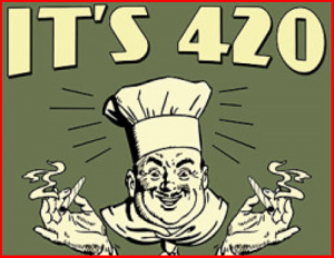 It's 420 Time to Blaze Meme