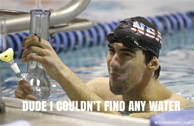 Michael Phelps Olympian Smokes Pot Weed Memes