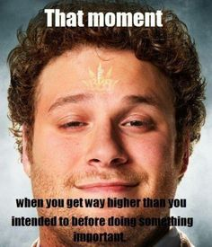 That Moment Stoned Seth Rogen Weed Memes