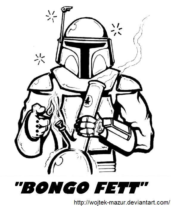 Bongo Fett Star Wars Spoof Weed Memes