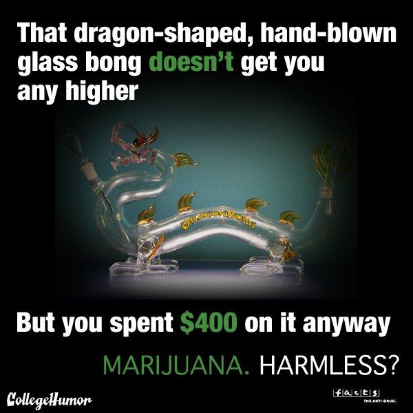 Dragon Bong Marijuana Harmless? Weed Memes
