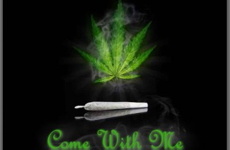 Come With Me Weed Leaf & Joint Stoner Meme
