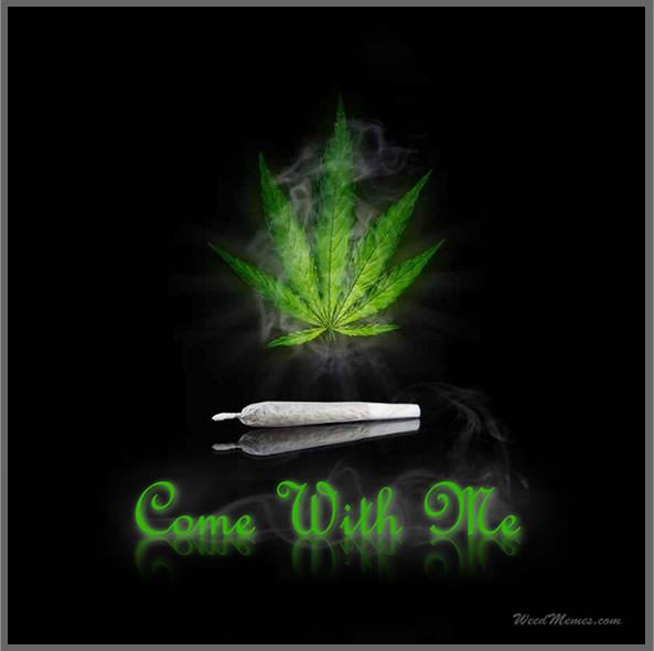 Come with me Smoke Weed Meme