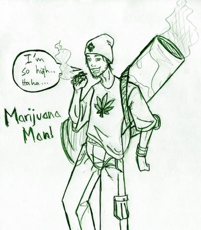 Weed Drawings