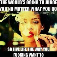 Rihanna Weed Memes Judge
