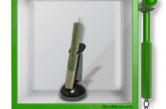 Smoke Weed In Emergency – Break Glass Weed Meme