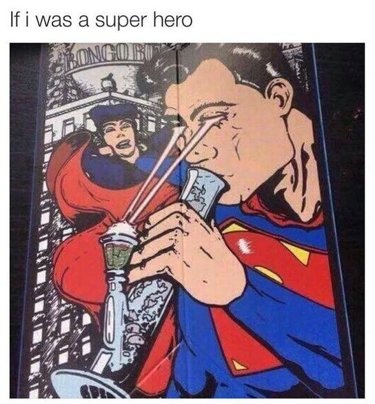 Super Hero Weed Memes