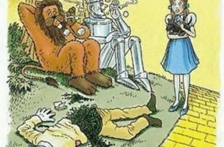 Wizard of OZ Strawman Weedman Stoner Humor