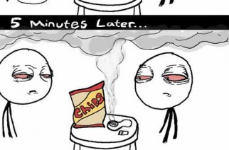 Weed Munchies Marijuana Comics