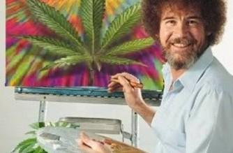 Paint Happy Trees Bob Ross WeedMemes