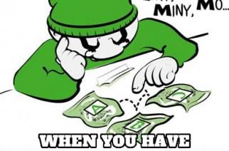 EENY MEENY MINY MO Funny Select Weed Strain Pic