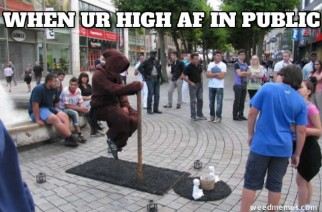 When You're High AF In Public Weed Memes