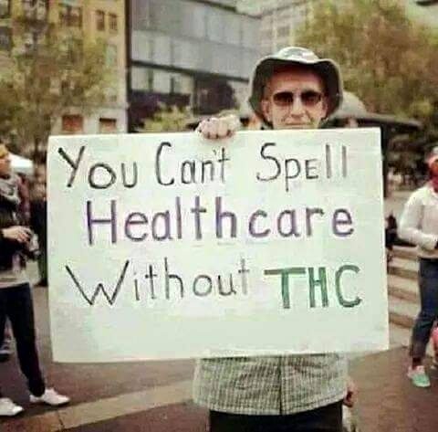 Can't Spell HealTHCare Without THC Legalize Weed Memes