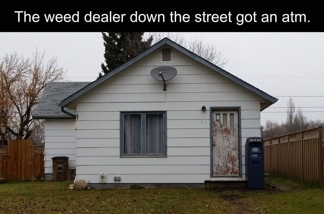 Weed Man ATM Memes