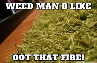 Weed Man Got Fire Weedmemes