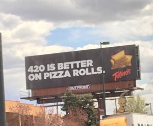 420 Pizza Rolls Billboard Pic