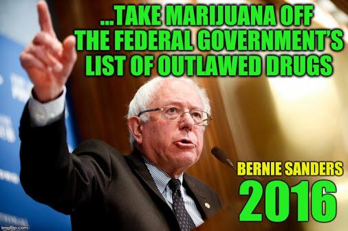 Best Bernie Sanders Quotes About Marijuana Legalization