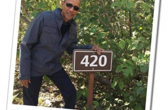 Obama 420 Meme Library Marker
