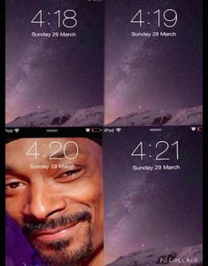 Snoop 420 Meme Phone Screen
