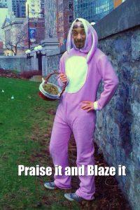 Snoop Easter Bunny Weed Memes