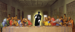 Snoop Dogg Last Supper Pic