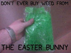 Buy Weed Easter Bunny WeedMemes