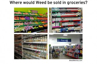 Where Would Weed Be Sold In The Grocery? Stoner Quiz Weed Memes