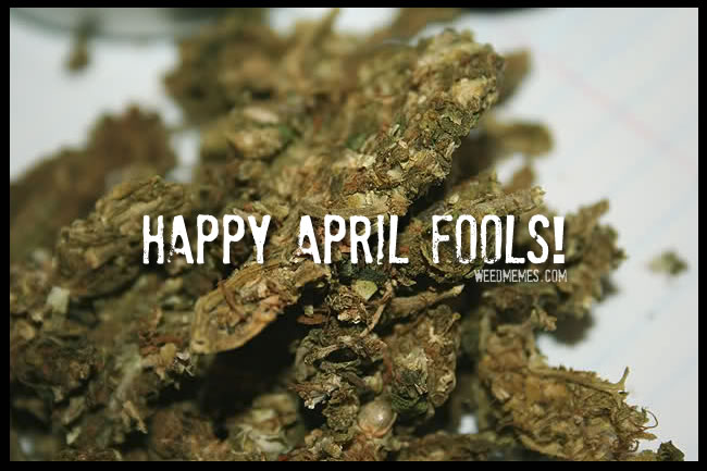 Happy April Fool's Day Stoners! Weed Memes