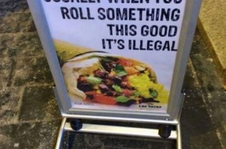 Roll Burrito So Good Illegal Funny Munchies Weed Memes