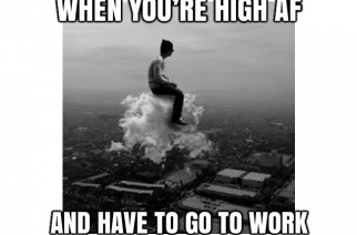 High AF Go Work Weedmemes