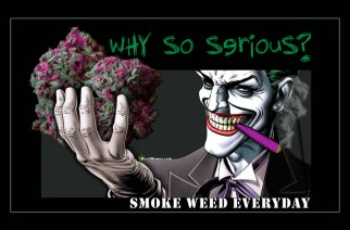 Why So Serious? Stoner Joker Offering Weed Memes