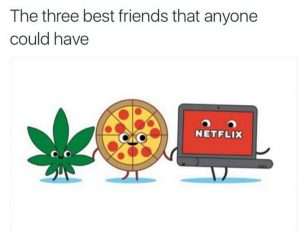 Netflix Chill Best Friends WeedMemes