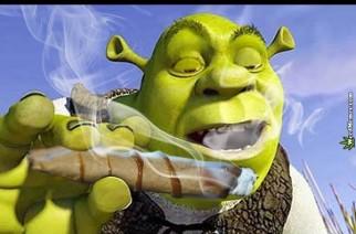 Shrek Passing Blunt Friday WeedMemes