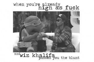 Wiz Khalifa Weed Memes Passes Blunt When High AF Memes