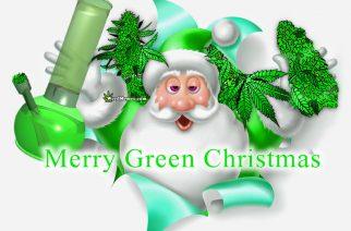 Christmas Santa Stoner Weed Memes