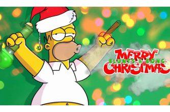 Homer Stoner Christmas Weed Memes
