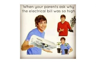 High Electricity Bill Growing Marijuana Weed Memes